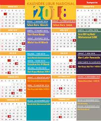 Kalender 2018 Hari Raya Idul Fitri Kalender Libur Dan Cuti Bersama Tahun 2018 Kumparan