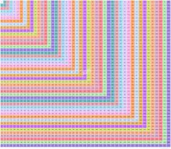 45 45 multiplication table multiple pinterest multiplication
