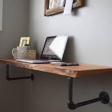 Computer Wall Desk Floating Shelf Computer Desk Best 25 Floating Desk Ideas On