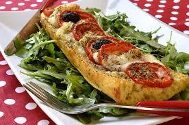 cuisine santé baguette perdue façon pizza ma cuisine santé
