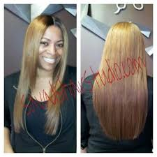 www savadshair com sew in hair extension with silk lace closure in chicago
