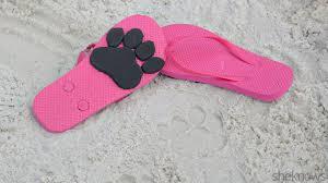make animal print flip flops for beach time fun