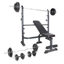 Weight Bench Package Mf 4000 With 120kg Weight Package