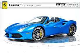 ferrari new model ferrari and exotic vehicle inventory in long island ny