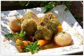 la cuisine de doria pot with stuffed cabbages pot au feu printannier aux choux