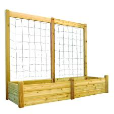 Greenes Fence Raised Beds by Greenes Fence 80 Sq Ft Dovetail Raised Bed Garden Kit Rc12t8s64b
