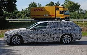 2017 bmw g31 5 series touring spied prototypes show new front end