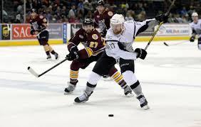 bentley college hockey weekend preview san antonio rampage vs chicago wolves running