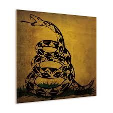 Don T Tread On Me Flag Origin Gadsden Don U0027t Tread On Me Flag Wood Flags Touch Of Modern