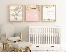 Personalized Nursery Decor Personalized Set Etsy