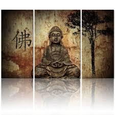 amazon com visual art buddhist love 3pcs framed and ready wall amazon com visual art buddhist love 3pcs framed and ready wall hang buddha canvas prints home decor paintings posters prints