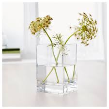 White Vases Ikea Beautiful Square White Contemporary Glass With Regard To Vases