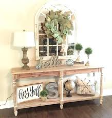 console table decor ideas entry console table decorating a console table in entryway best