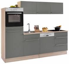K Henzeile Komplett Optifit Küchenzeile Ohne E Geräte Bern Breite 240 Cm Online