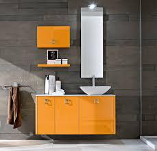 Refurbished Bathroom Vanity by Fun Yellow Bathroom Vanity With Three Ample Storage Spaces Also