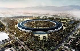 apple siege voici le futur siège d apple é par un drone tech numerama