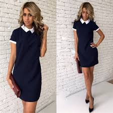 fashion women short sleeve office bodycon evening party cocktail
