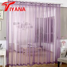 Purple Sheer Curtains Buy Purple Sheer Curtains And Get Free Shipping On Aliexpress