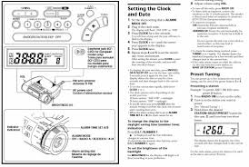 sony clock radio manual hii have just bought a 2nd hand sony dream machine clock