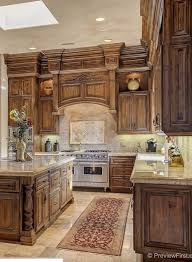 wood kitchen furniture best 25 tuscany kitchen ideas on tuscany kitchen