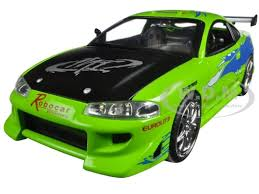 mitsubishi eclipse fast and furious mitsubishi eclipse green the fast furious movie 2001 1 24