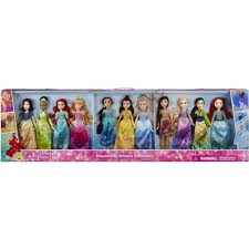 Disney Princess Shimmering Dreams Collection 11 Pack Walmart Com