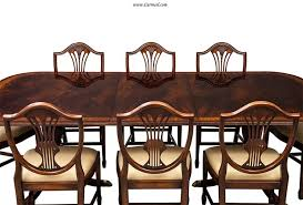 Duncan Phyfe Dining Room Table And Chairs Duncan Phyfe Dining Room Chairs For Exemplary Flamed Mahogany