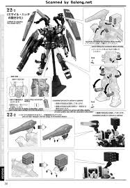 mg full armor gundam gundam thunderbolt ver ka english manual