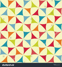vector colorful geometry pattern color abstract stock vector
