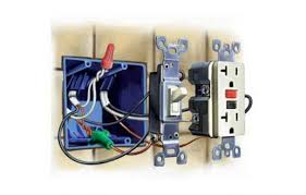 Bathroom Medicine Cabinets With Electrical Outlet How To Upgrade Outlets To Gfci This Old House