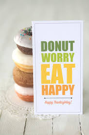 donut worry eat happy free printable donut gift tags it s