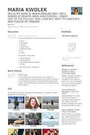 Resume For A Daycare Job by Garde D U0027enfants Exemple De Cv Base De Données Des Cv De Visualcv