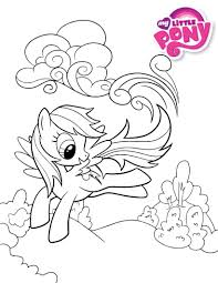 pony coloring pictures my little pony rainbow dash happy coloring page my little pony
