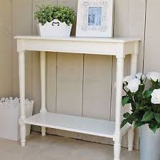 Ivory Console Table Ivory Console Table With Shelf Hallway Table Was 129 99