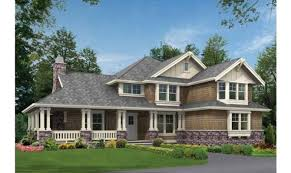 18 genius craftsman house plans with wrap around porch house