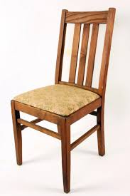 Mission Dining Room Chairs by Lot Of 6 Mission Style Dining Room Chairs Marked Wakefeild In