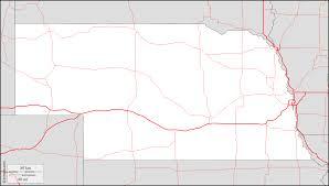 Nebraska Map Nebraska Free Map Free Blank Map Free Outline Map Free Base