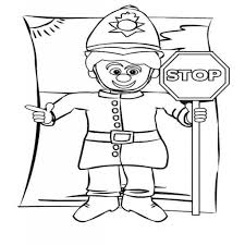 inspirational stop sign printable coloring page