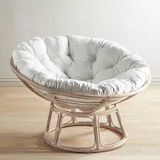 Leather Papasan Cushion by Papasan Whitewash Chair Frame Stone Wash Papasans U0026 Swingasans