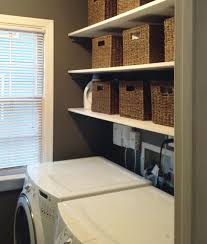 Laundry Room Storage Shelves Laundry Room Storage Shelf Design And Ideas