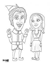 download coloring pages elf coloring pages elf coloring pages for