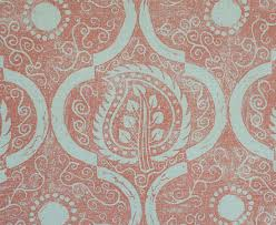 Hand Printed Wallpaper by Persian Leaf Blithfield Wallpaper Collections Hand Printed