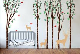 Deer Nursery Decor Nursery Room Tree Wall Decals Wall Decals For Nursery Rooms Design