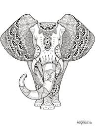 printable 21 elephant mandala coloring pages 8912 elephant