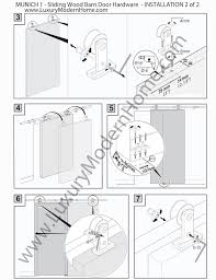 Barn Door Hardware Installation Munich Double Sliding Barn Door Hardware 100