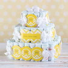personalized baby shower cake baby shower diaper cake