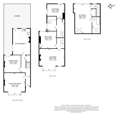 Terraced House Floor Plan by 4 Bedroom Terraced House To Rent In Compton Crescent Chiswick W4 3ja