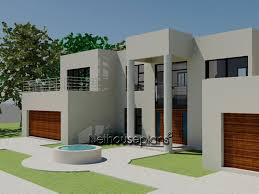 modern style house modern style house plan bedroom double storey floor plans bed home