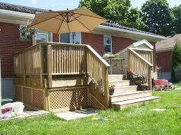 How To Build A Shed Ramp Concrete by Building A Wooden Deck Over A Concrete One 6 Steps With Pictures