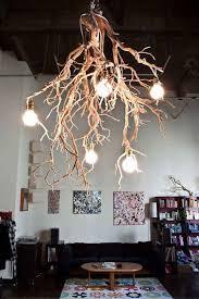 tree branch chandelier 30 creative diy ideas for rustic tree branch chandeliers www